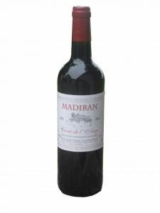 MADIRAN CUVEE DE L'ANGE 2011 decoup