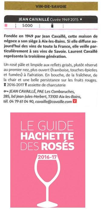 1949 guide hachette des rosés